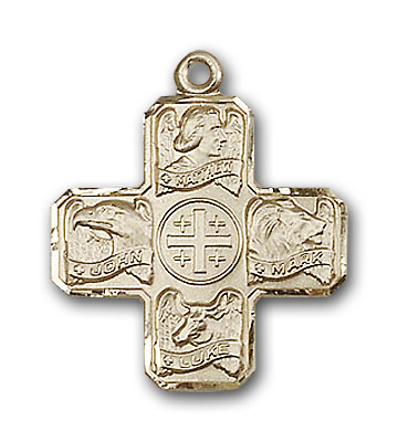 Gold-Filled Evangelist Pendant