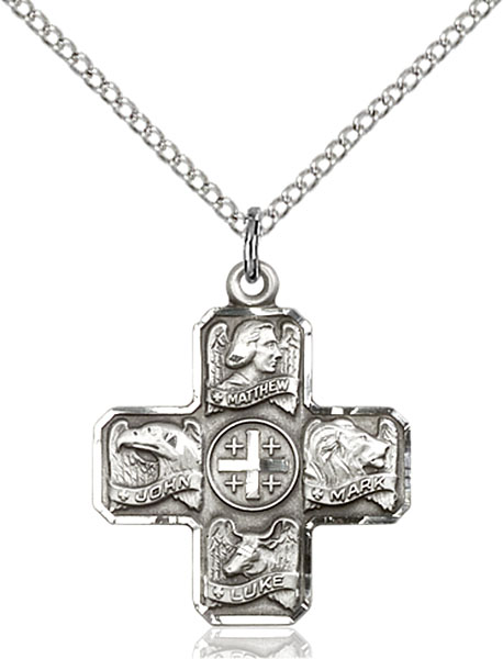 Sterling Silver Evangelist Pendant