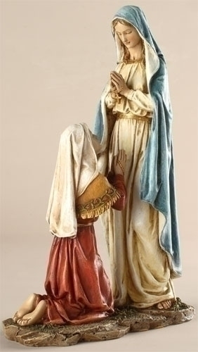 10.5-inch Our Lady Of Lourdes Fig