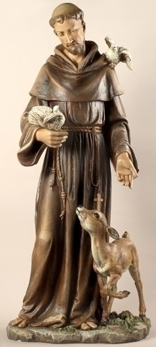 36.5-inch St Francis Figure