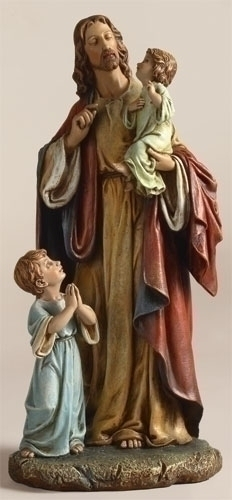 10-inch Jesus With Children