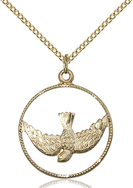 Gold-Filled Holy Spirit Pendant