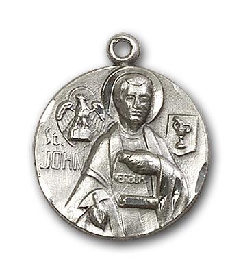 Sterling Silver St. John the Evangelist Pendant