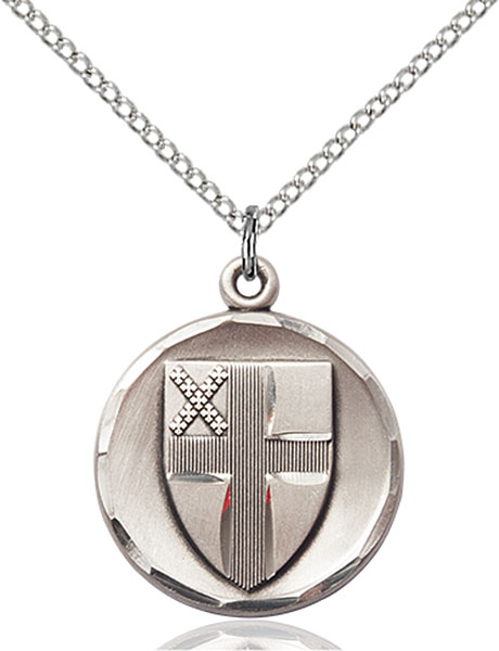 Sterling Silver Episcopal Pendant