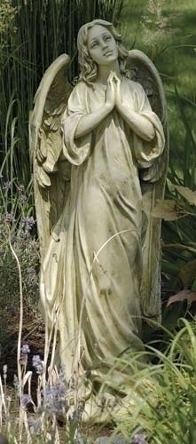36-inch Praying Angel Garden Fig