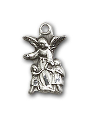 Sterling Silver Littlest Angel Pendant