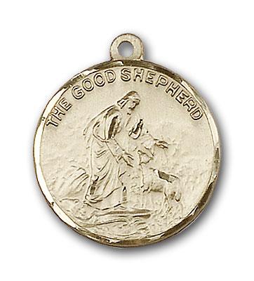 Gold-Filled Good Shepherd Pendant