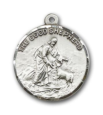 Sterling Silver Good Shepherd Pendant