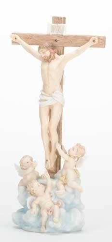 11.5-inch Crucifix With Cherubs