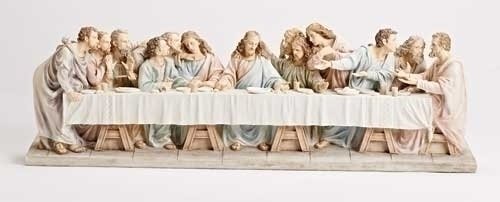 7-inch X28.75-inch Last Supper