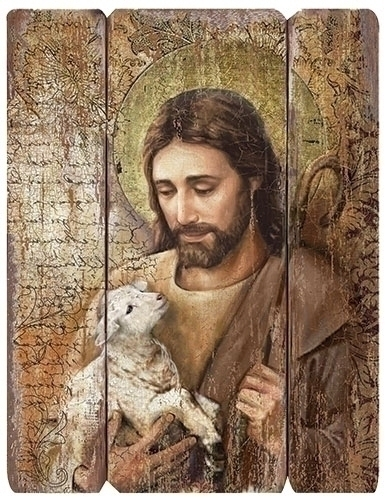 26-inch H Jesus Decorative Panel