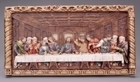 11.5-inch Last Supper Large Plaque