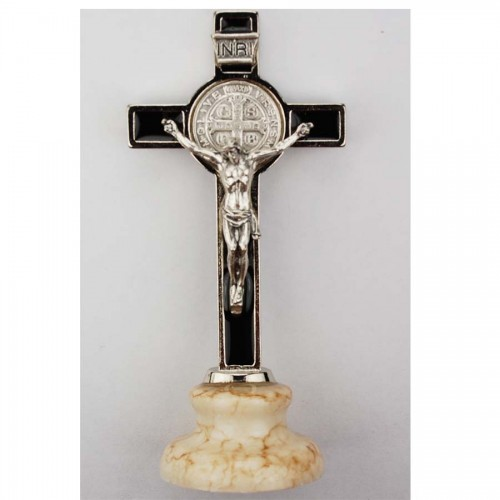 Black Standing St. Benedict