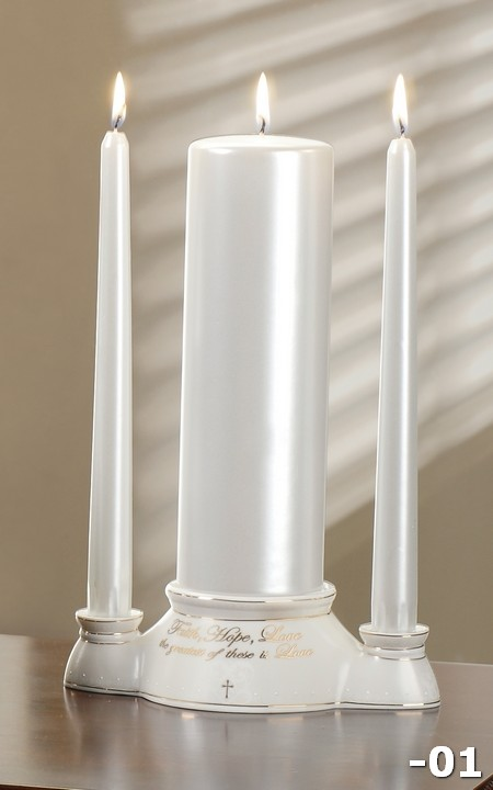 4Pc St 11-inch Unity Candle