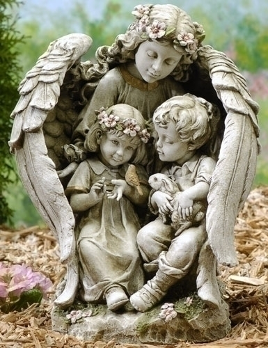 16-inch Angel With Children