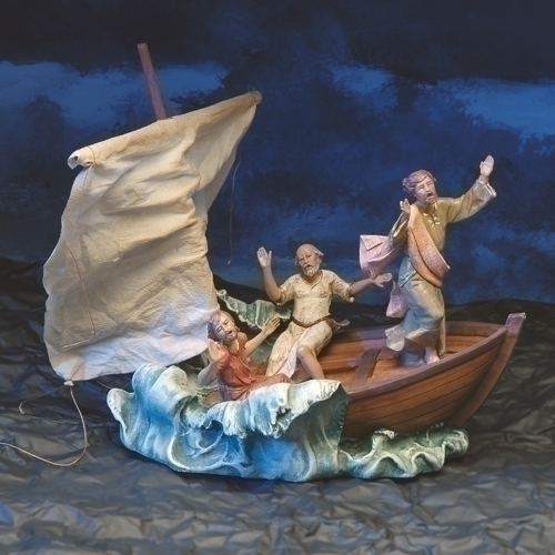 4Pcst 5-inch Christ Calming The Sea