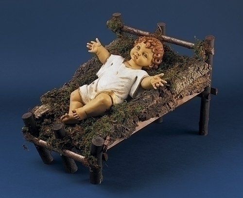 50-inch Gowned Infant Nativity Fig