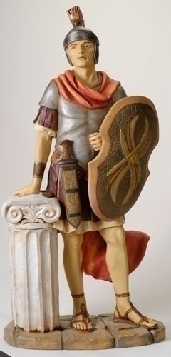50-inch Roman Soldier Fig