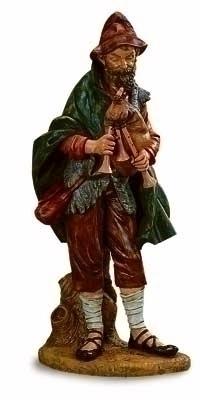 50-inch Josiah Bagpiper Nativity