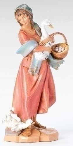 12-inch Deborah With Duck & Basket