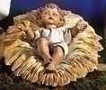 2Pc St 27-inch Infant & Manger