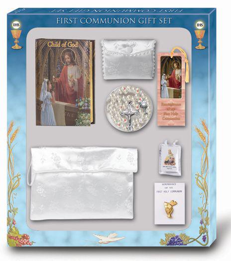 Girls Communion Set L'Le Child Of God