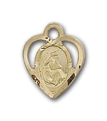 Gold-Filled Our Lady of La Salette Pendant