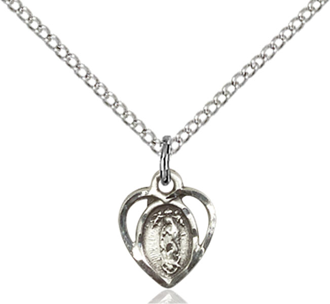 Sterling Silver Our Lady of La Salette Pendant