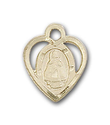14K Gold Infant Pendant