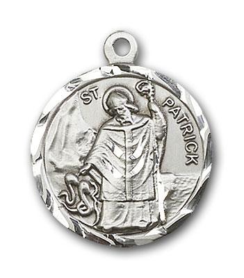 Sterling Silver St. Patrick Pendant