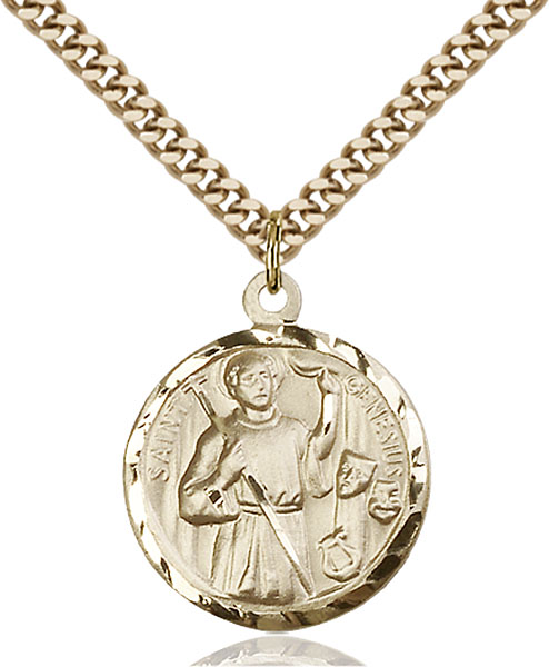 Gold-Filled Genesius Pendant