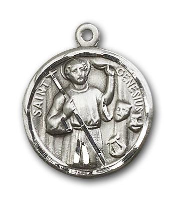 Sterling Silver Genesius Pendant