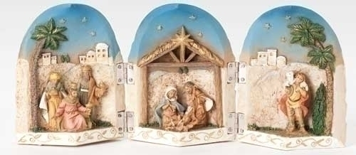 5-inch Nativity Triptych Figure