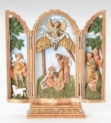 7.5-inch Nativity Triptych Fig