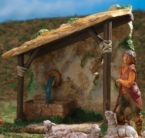 7-inch Shepherd'S Shelter Figure