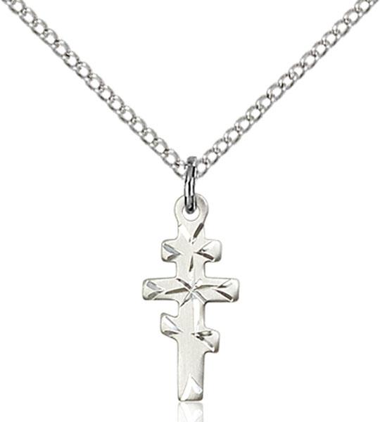 Sterling Silver Greek Orthadox Cross Pendant