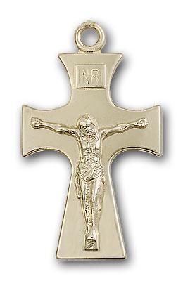 Gold-Filled Celtic Crucifix Pendant