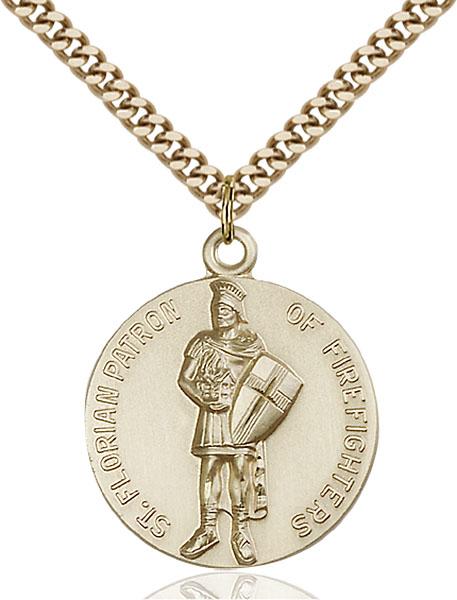 Gold-Filled St. Florain Pendant