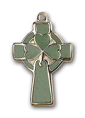Gold-Filled Celtic Cross Pendant