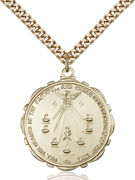 Gold-Filled Seven Gifts Pendant