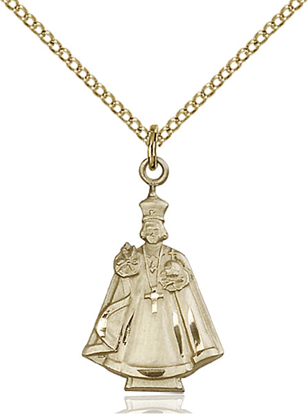 Gold-Filled Infant Figure Pendant