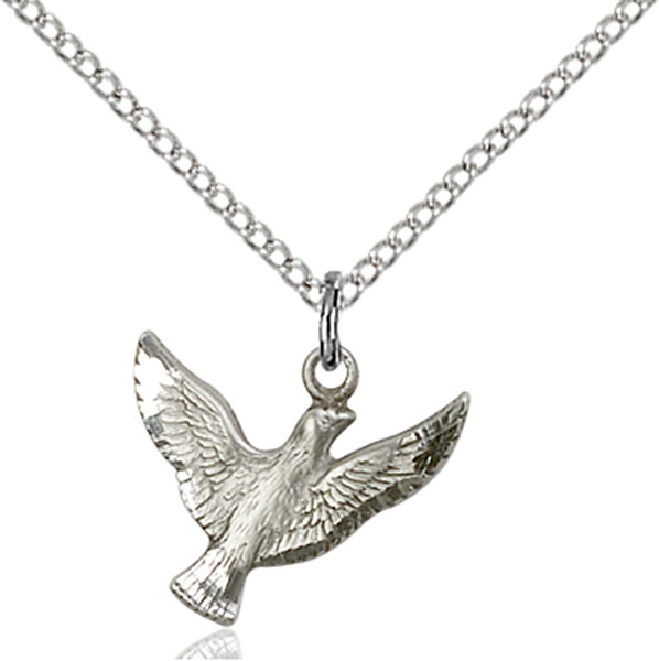 Sterling Silver Holy Spirit Pendant