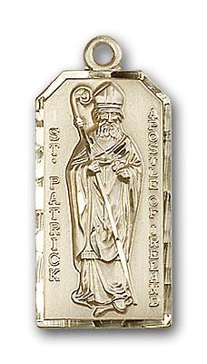 Gold-Filled St. Patrick Pendant