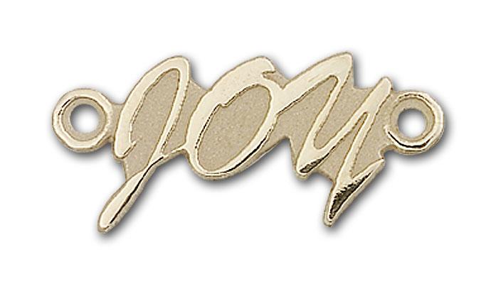 14K Gold Joy Pendant