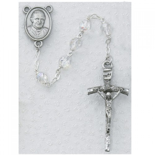 Crystal Pope Benedict Rosary