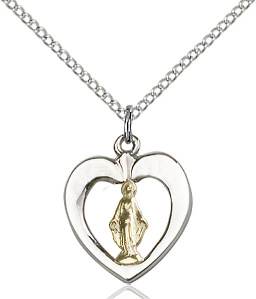 Two-Tone GF/SS Miraculous Medal