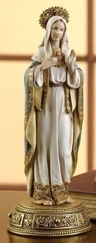 10.5-inch Immaculate Heart Of Mary