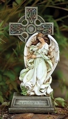 14.75-inch Celtic Angel Cross