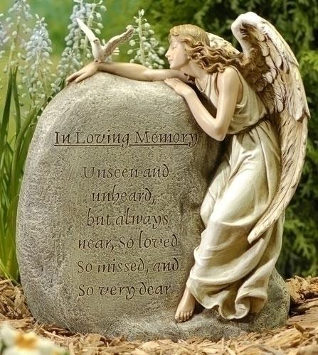 11.25-inch Memorial Garden Angel