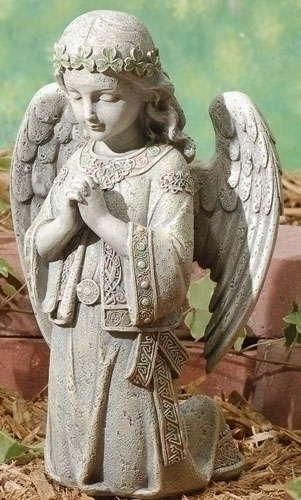 12.25-inch Celtic Kneeling Angel